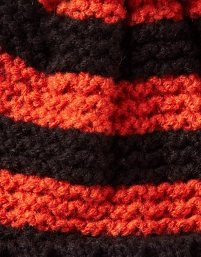 Image 3 ofASOS Rugby Stripe Bobble Beanie