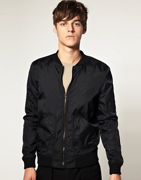 Image 1 ofASOS MA1 Bomber Jacket