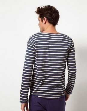 Image 2 ofScotch &amp; Soda Breton Stripe Long Sleeve T-Shirt
