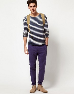 Image 4 ofScotch &amp; Soda Breton Stripe Long Sleeve T-Shirt