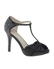Faith Lainery T Bar Evening Shoes