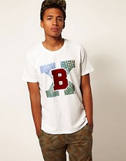 Boxfresh T-Shirt Flocked College Laharre