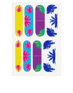 Image 2 ofNail Rock Waikiki Palm Tree Nail Wraps
