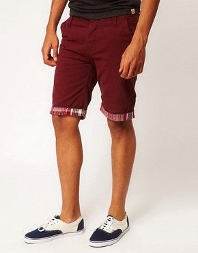 Image 1 ofBellfield Shorts with Aztec Trim