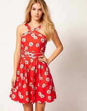 Trollied Dolly Daisy Cross My Heart Dress