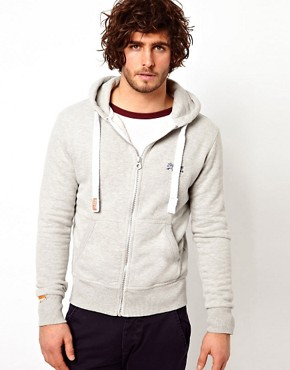 Image 1 ofSuperdry Orange Label Hoodie