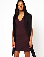 Unconditional Hooded Vest Dress
