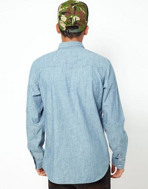 Image 2 of55DSL Shirt Rainbow Chambray