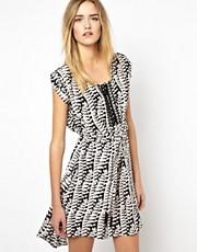 Shop Greylin online and buy Greylin Silk Embroidered Hi Lo Dress
