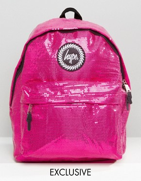 Hype Exclusive All Over Sequin Backpack