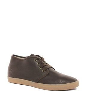 Image 1 ofJack &amp; Jones Oslo Shearling Chukka Boots