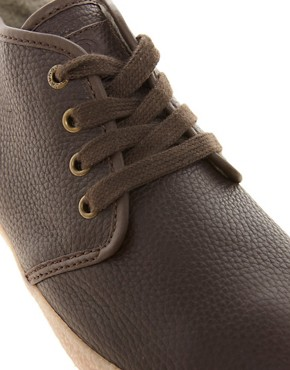 Image 2 ofJack &amp; Jones Oslo Shearling Chukka Boots
