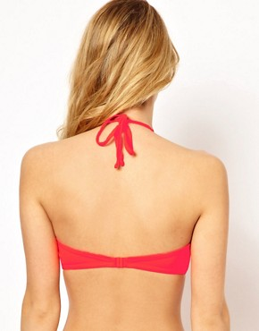 Image 2 ofASOS Mix and Match Longline Bandeau Bikini Top with detachable strap