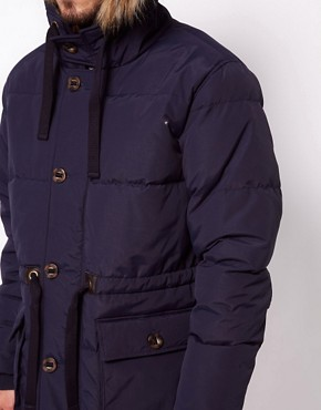 Image 3 ofASOS Quilted Arctic Parka