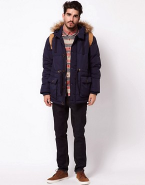 Image 4 ofASOS Quilted Arctic Parka