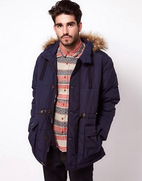 Image 1 ofASOS Quilted Arctic Parka