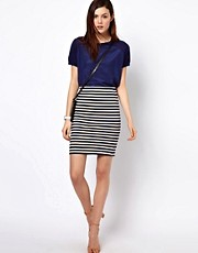 BZR Cotton Striped Skirt