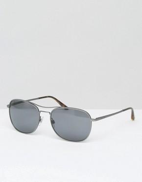 Giorgio Armarni Aviator Sunglasses Gunmetal
