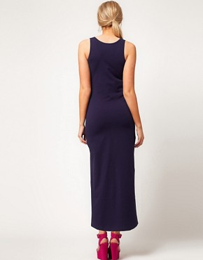 Image 2 ofASOS Maternity Exclusive Maxi Dress In Stretch Jersey