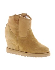 Ash - Yahoo Bis Shearling Concealed Wedge Boots
