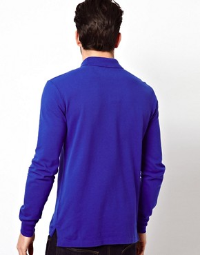 Image 2 ofPolo Ralph Lauren Polo in Slim Fit with Long Sleeves