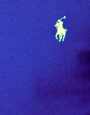 Image 3 of Polo Ralph Lauren Polo in Slim Fit with Long Sleeves