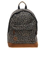 Mi Pac Leopard Print Backpack