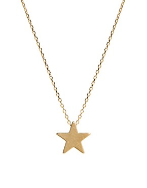 Image 1 ofOrelia Chunky Star Necklace
