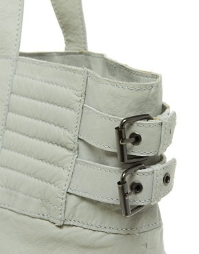 Image 4 ofMaison Scotch Leather Biker Shopper