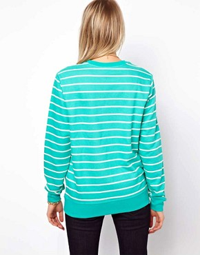 Image 2 ofASOS Sweatshirt in Stripe