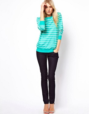 Image 4 ofASOS Sweatshirt in Stripe