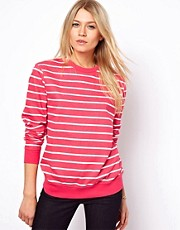 ASOS Sweatshirt in Stripe