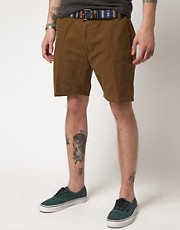 The Twelfth Letter Canvas Walk Shorts