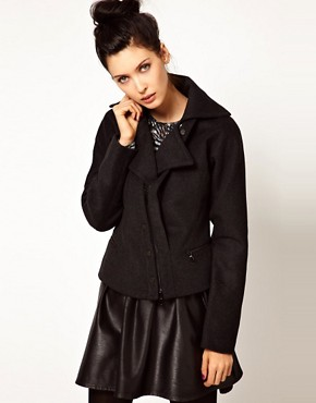 Image 1 ofEdun Oversized Zip Front Jacket