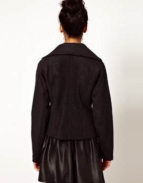 Image 2 ofEdun Oversized Zip Front Jacket