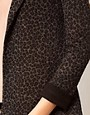 Image 3 ofA Wear Leopard Print Blazer Jacket