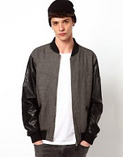 Two Square Envy Bomber Jacket