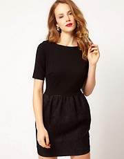 Coast Ponte Sleeve Inas Dress