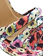 Image 3 of ASOS HOORAY Platform Heeled Sandals