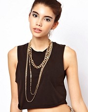 ASOS Triple Pack of Necklaces