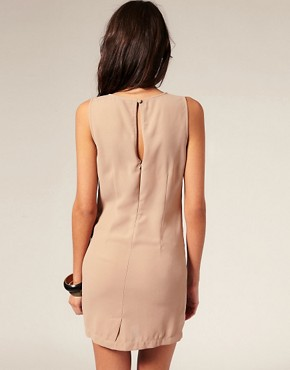 Image 2 ofASOS Shift Dress with Knot Waist