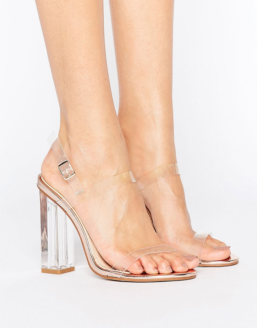 public-desire-estella-clear-strappy-heeled-sandals-gold