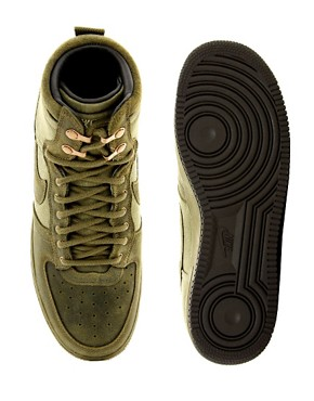 Image 3 ofNike Air Force 1 Hi-Top Trainers
