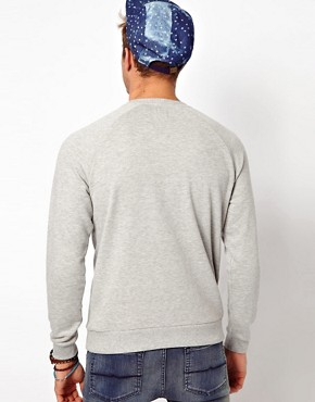 Image 2 ofASOS Sweatshirt With Velodrome Print