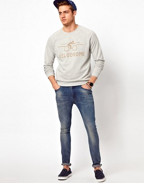 Image 4 ofASOS Sweatshirt With Velodrome Print