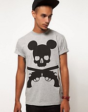 Trainerspotter T-Shirt Exclusive To ASOS Mickey Print