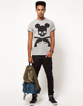 Image 4 ofTrainerspotter T-Shirt Exclusive To ASOS Mickey Print