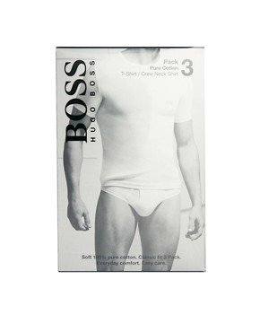 Image 3 of Boss Black Three Pack T-Shirt