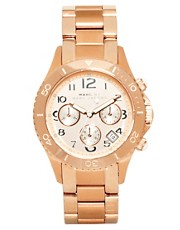 Marc by Marc Jacobs Rose Gold Chronograph Bracelet Watch