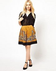 Darling Floral Skirt